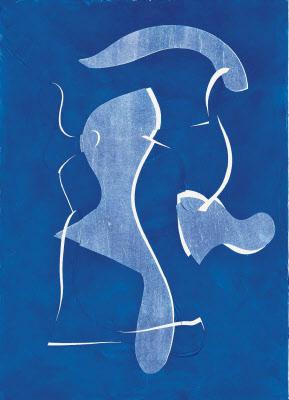 「背中《2011-2012》,1」(2011~12年)(C)Camille Bonnefoi